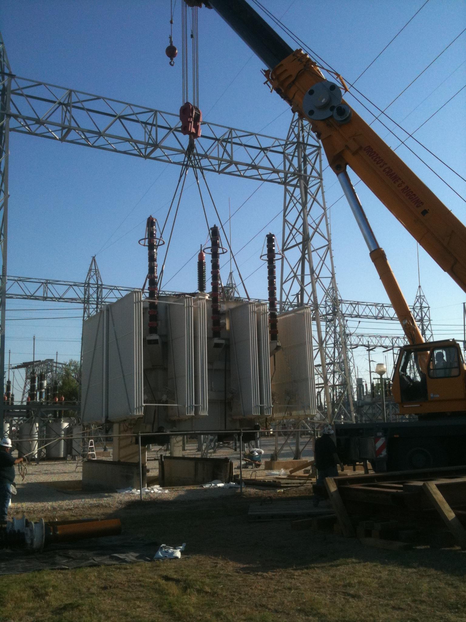 Laredo Power Plant demolition