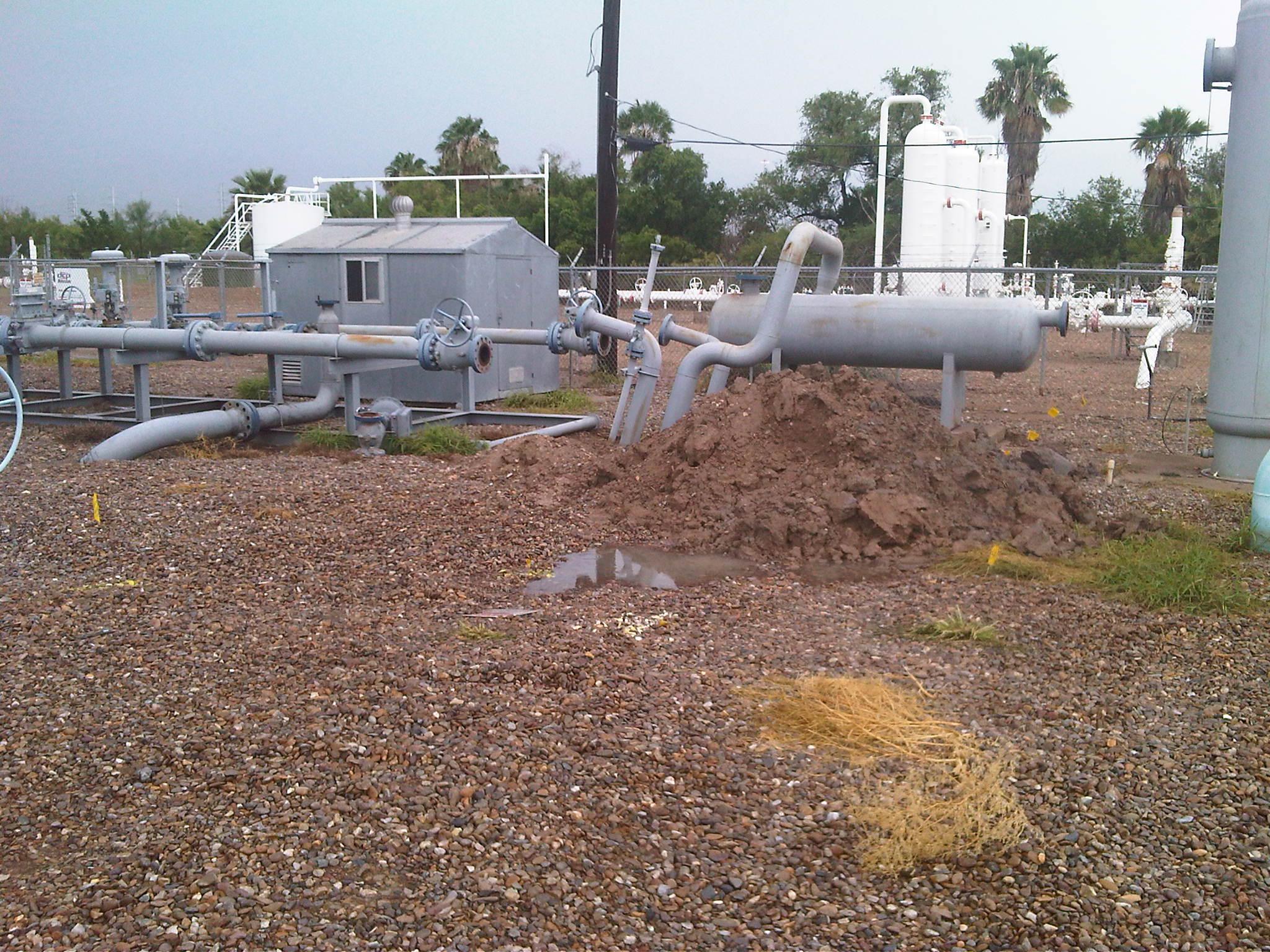 Laredo Gas Yard - Groundwater Investigation
