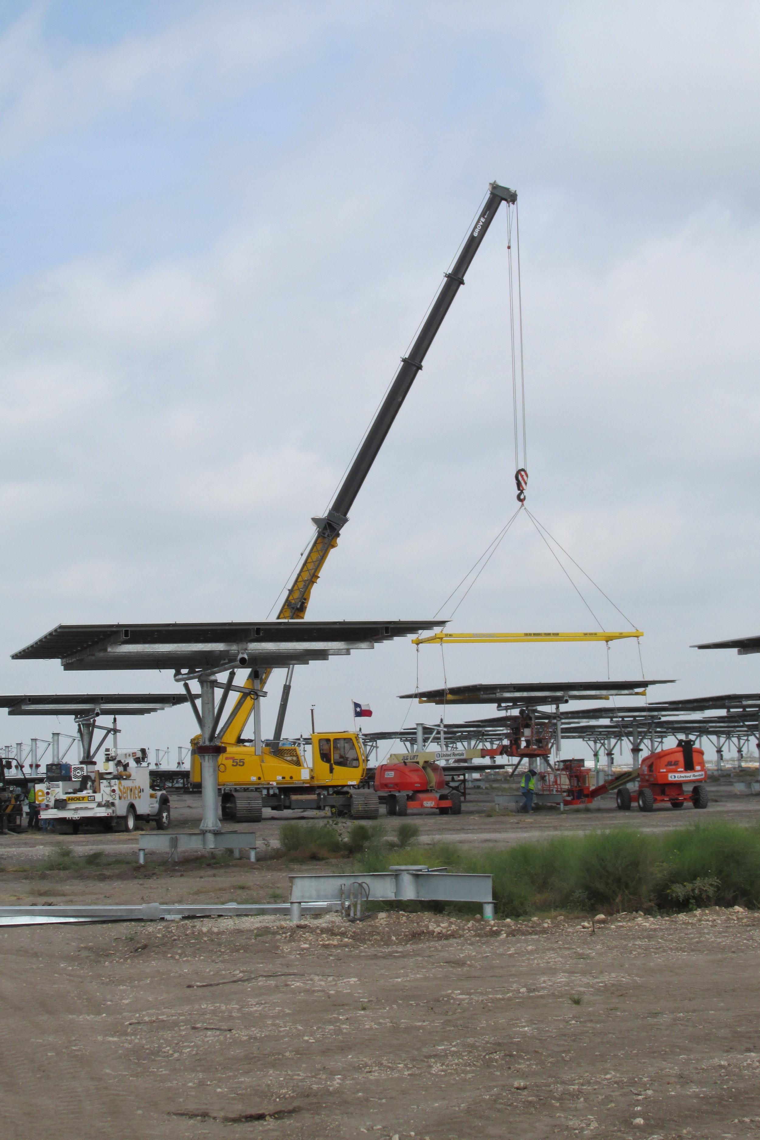 Alamo 1-9 Solar Projects - Construction