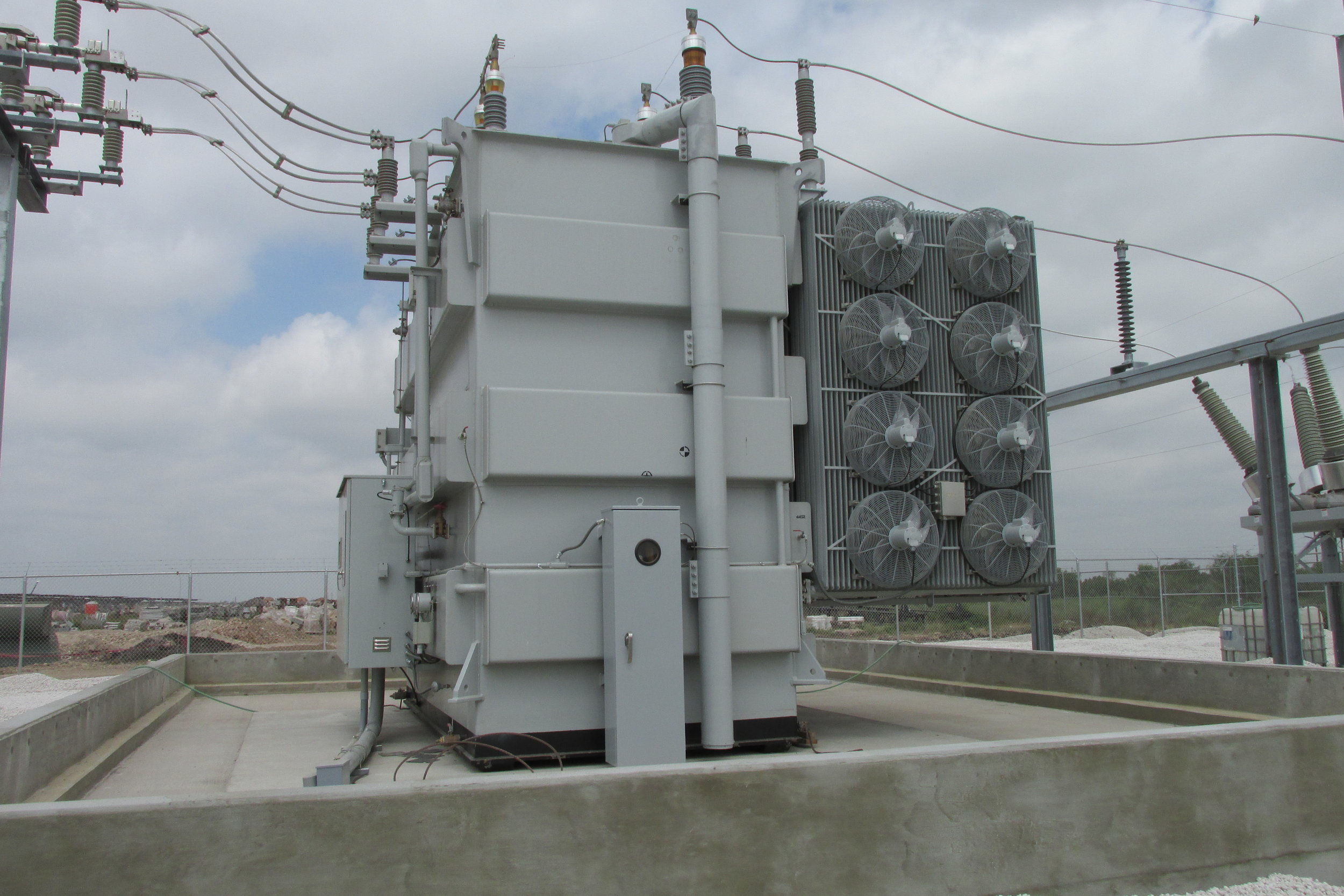 Alamo 1-9 Solar Projects - Substation