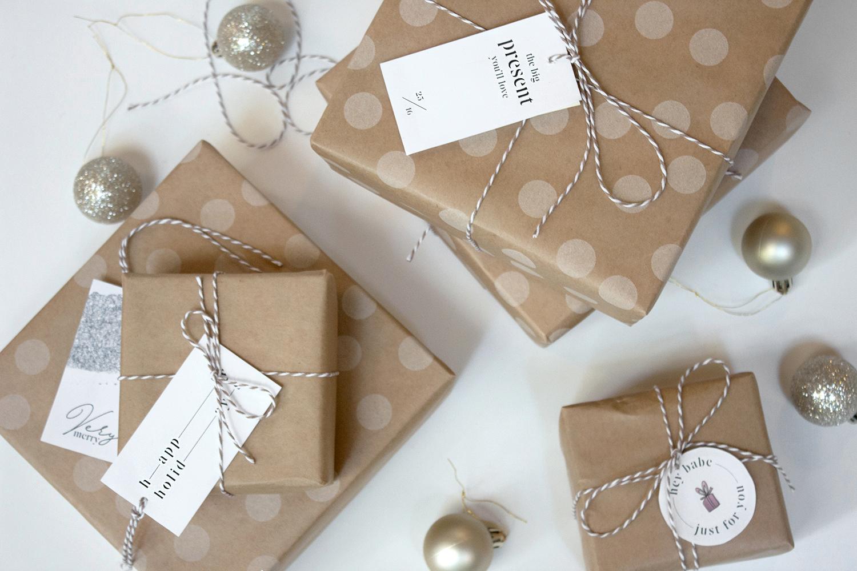 christmas wrapping diy   gift tags