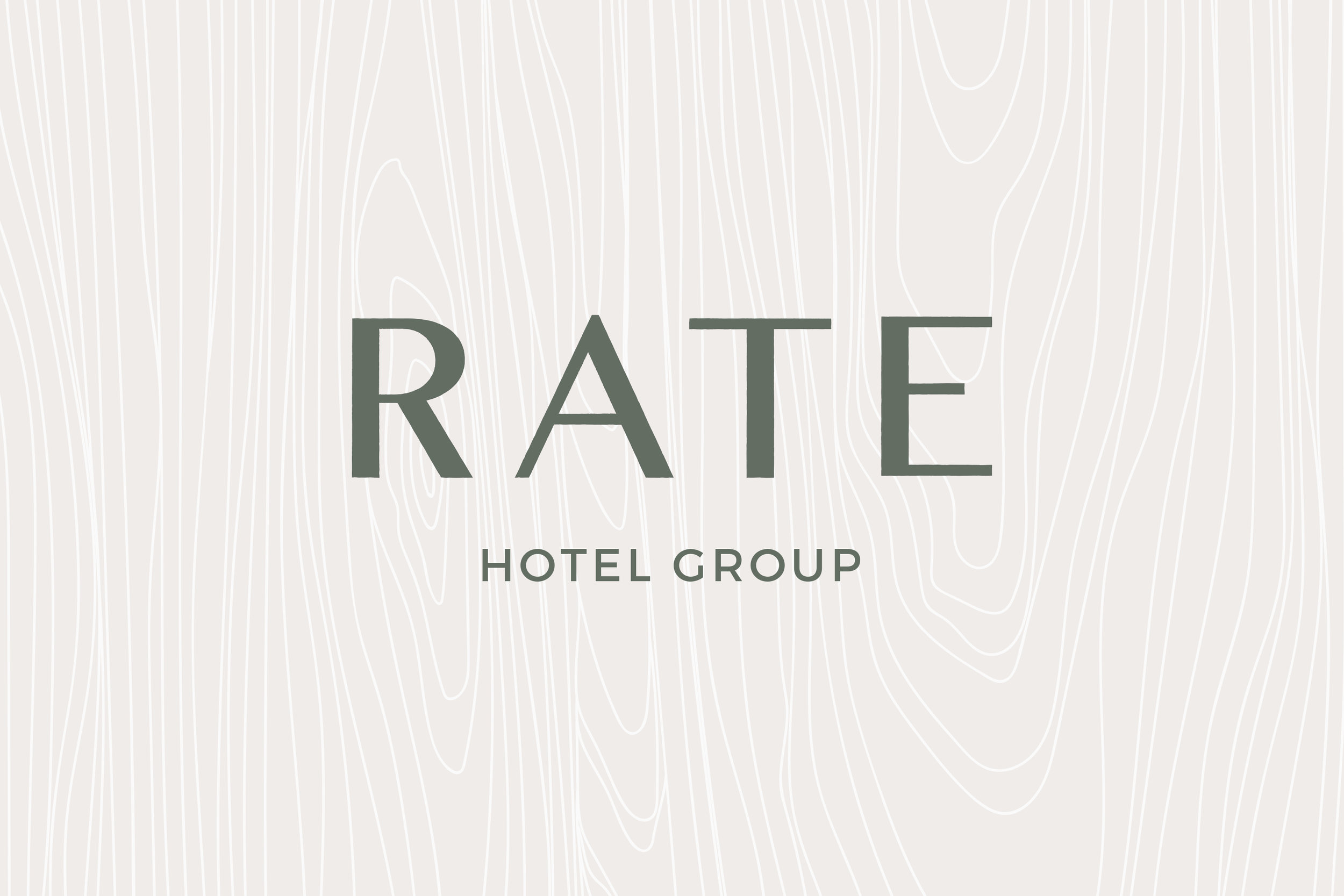 RATE Hotel Group Brand Design: Logo Design   Reux Design Co.   Boutique Branding Studio for Holistic and Conscious Small Businesses