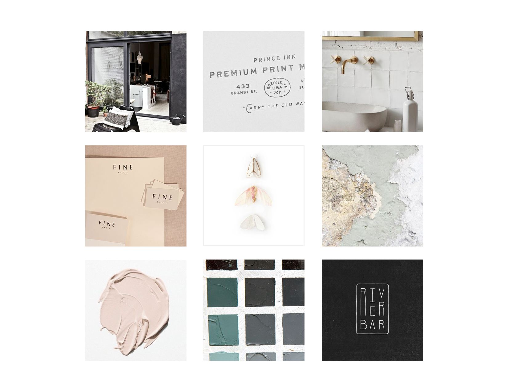 RATE Hotel Group Brand Design: Moodboard and Inspo   Reux Design Co.   Boutique Branding Studio for Holistic and Conscious Small Businesses