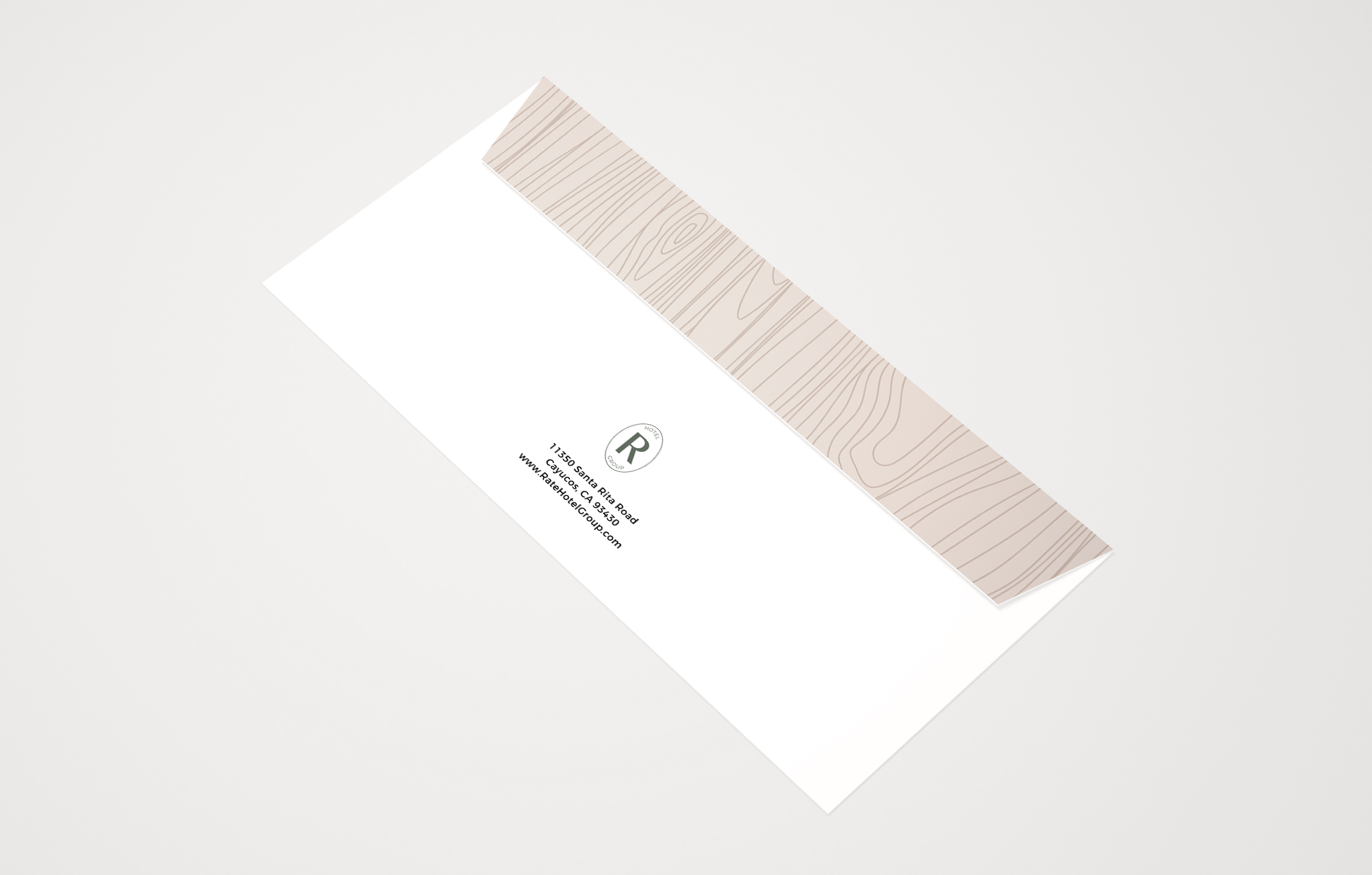 RATE Hotel Group Brand Design: Collateral Design   Reux Design Co.   Boutique Branding Studio for Holistic and Conscious Small Businesses