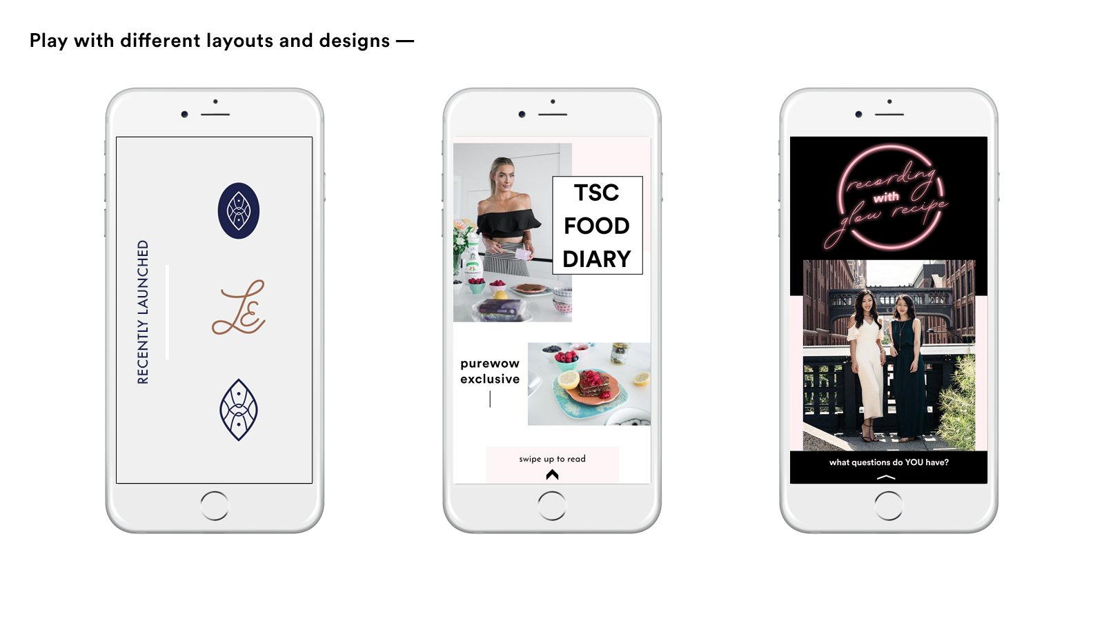 Top 5 tips for Designing Instagram Stories Graphics that connect and convert your audience | Reux Design Co.