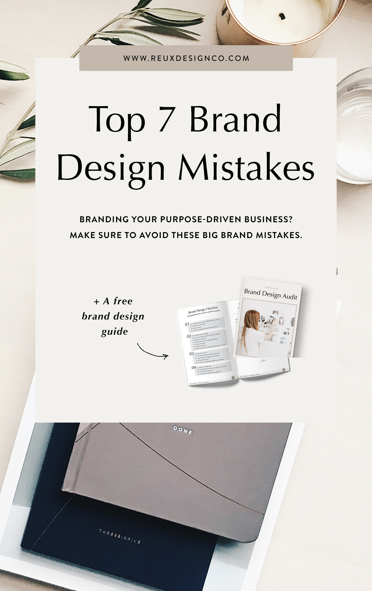 7 Top Brand Design Mistakes You Should Avoid In Your Business | Reux Design Co. — Brand & Web Design for Holistic, Sustainable Businesses