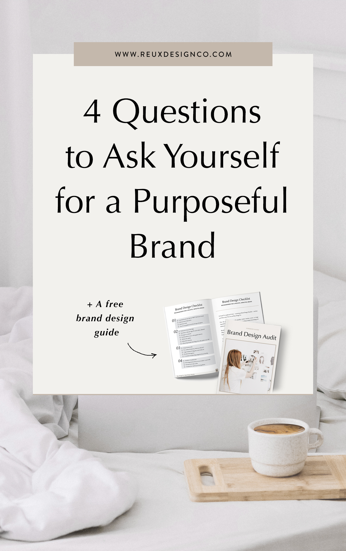 4 questions to determine how well your brand is working! Questions for purposeful, established businesses | Reux Design Co. — Brand & Web Design for Holistic, Sustainable Businesses