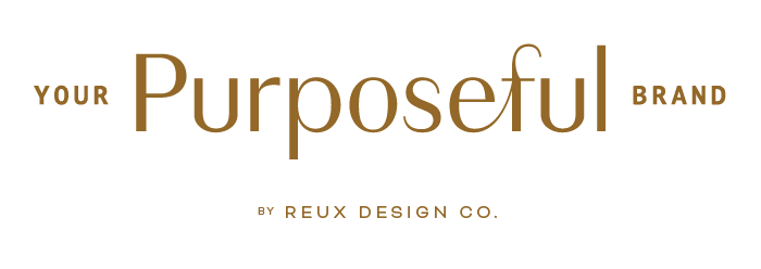 Your Purposeful Brand by Reux Design Co. | A mini-course to attract more soul-aligned (dreamy) clients with meaningful visuals for your business.
