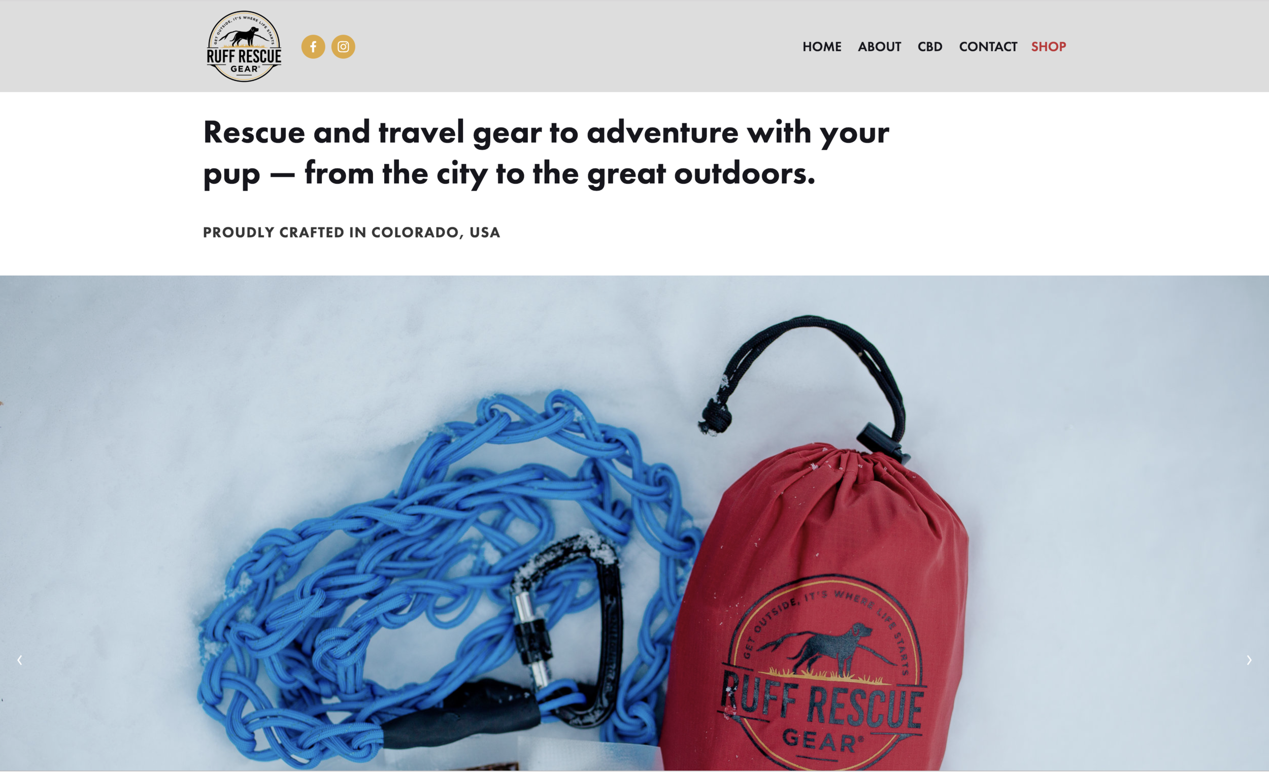 RUFF RESCUE GEAR -