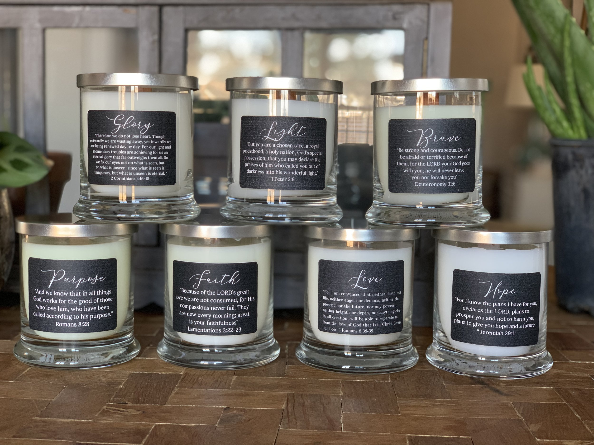 encouragement candles