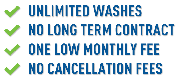 Unlimited Wash Pass Features