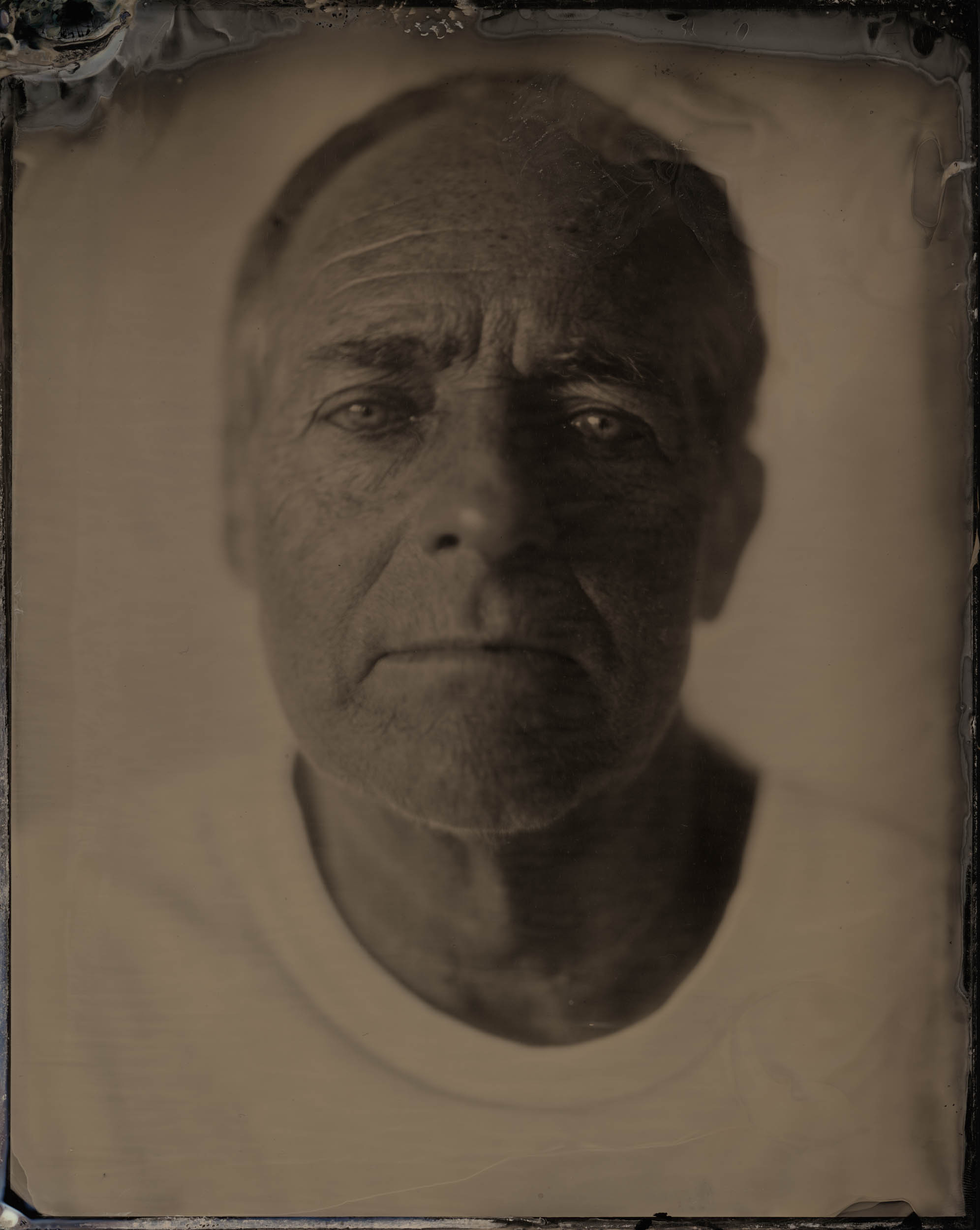 Father, ambrotype original, archival pigment print, 40 in. x 50 in., 2018