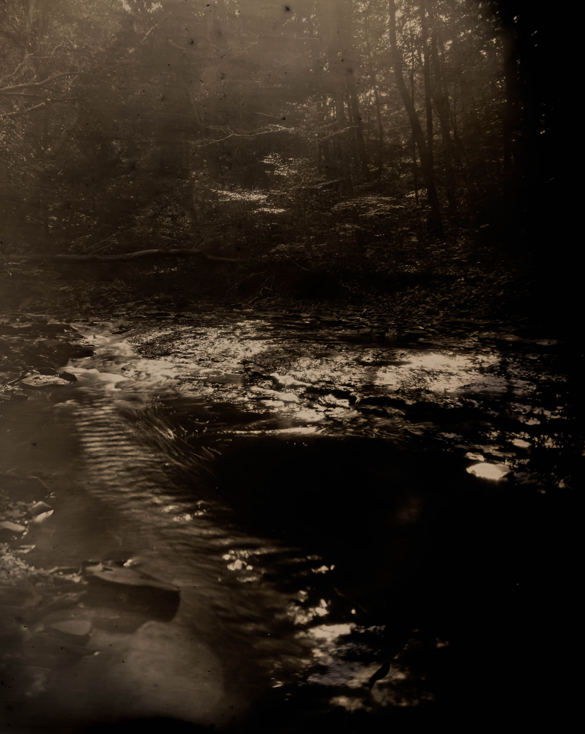 Last Light, ambrotype original, archival pigment print, 40 in. x 50 in., 2018