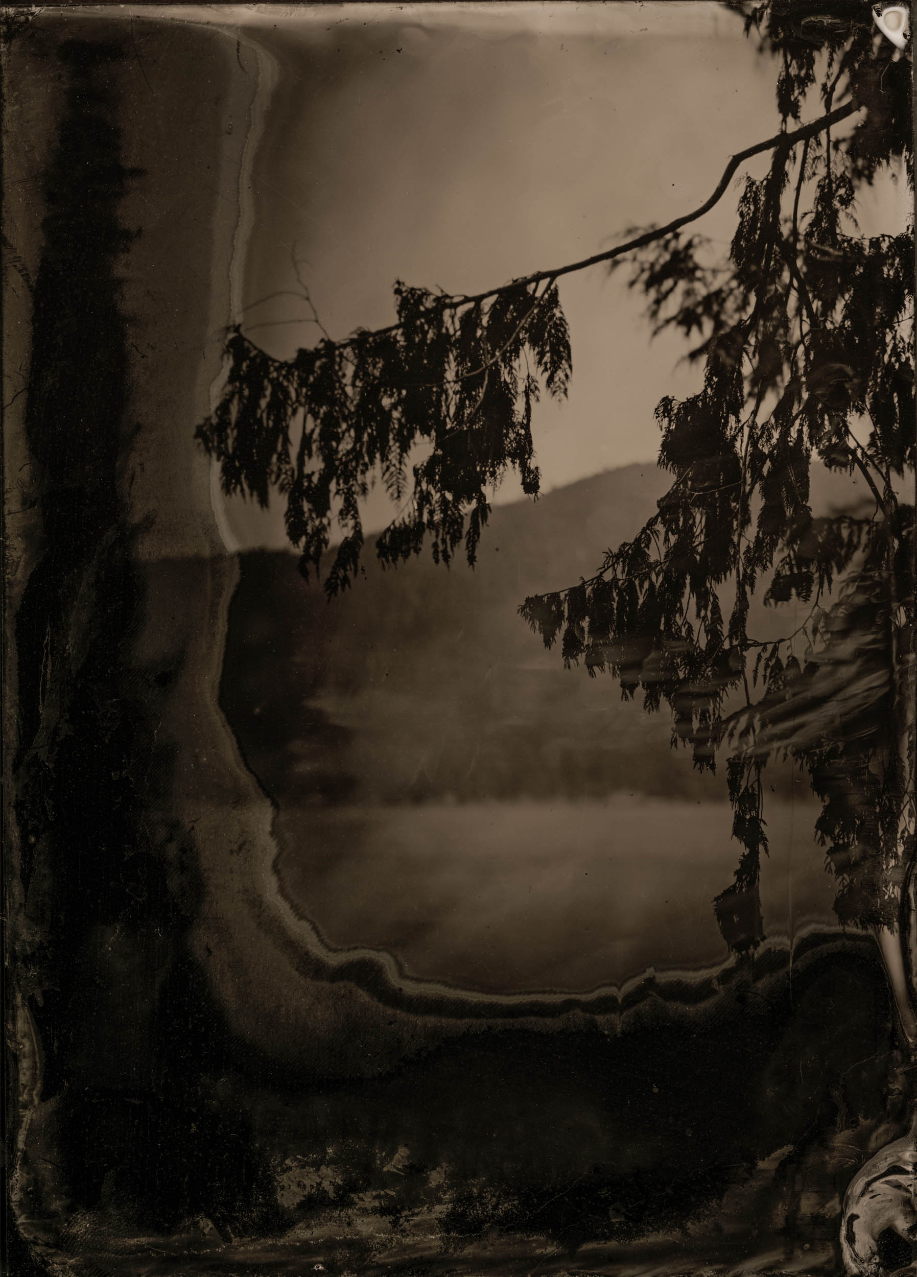 Passage, ambrotype original, archival pigment print, 40 in. x 50 in., 2018