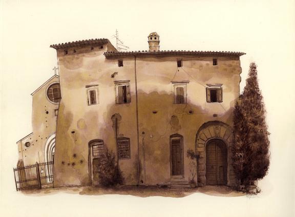 The Abbey of Santa Maria, Falerii Novi