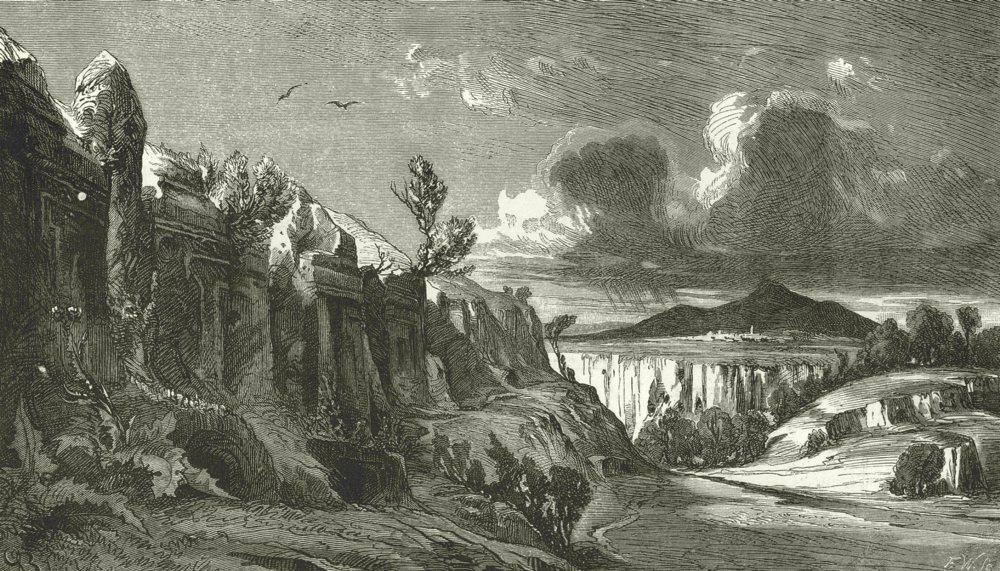 illustration by George Dennis, 1848