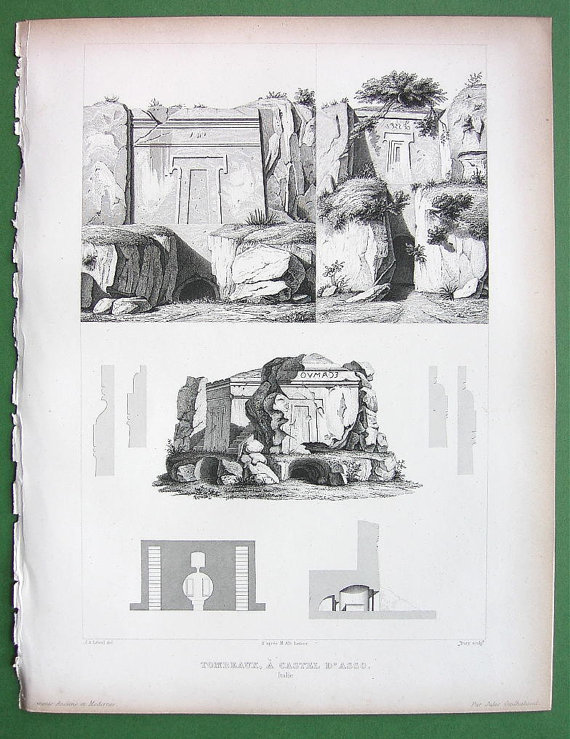 print by Jules Gailhabaud an   Jean Arnould   Léveil from 1865-70