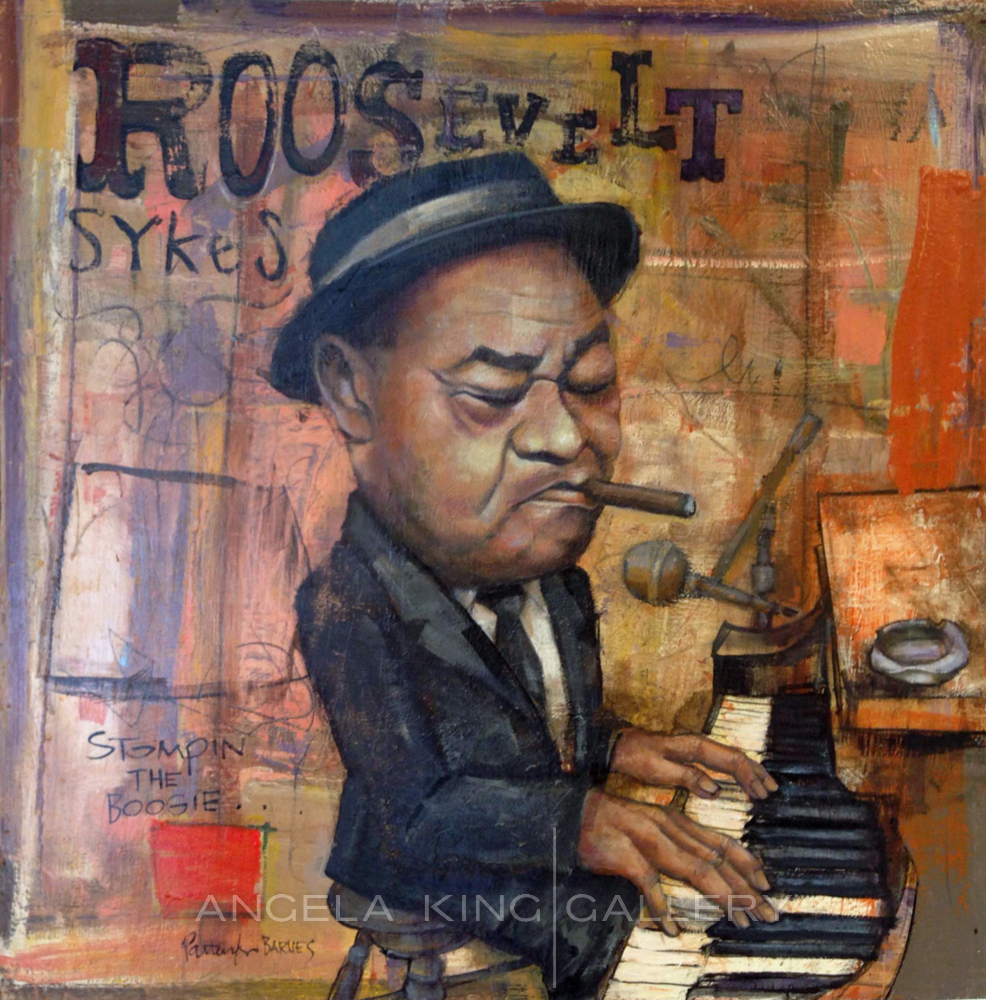 """Roosevelt Sykes """"Stompin the Boogie"""""""