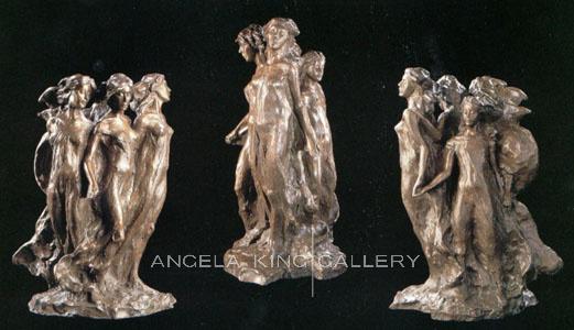 Daughters of Odessa Maquette Bronze
