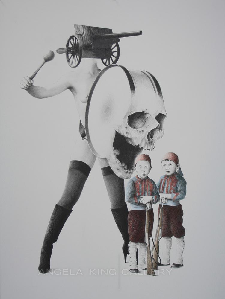 Les Petits Zouaves ou la Chaire à Canon - The Little Zouaves or Cannon Fodder