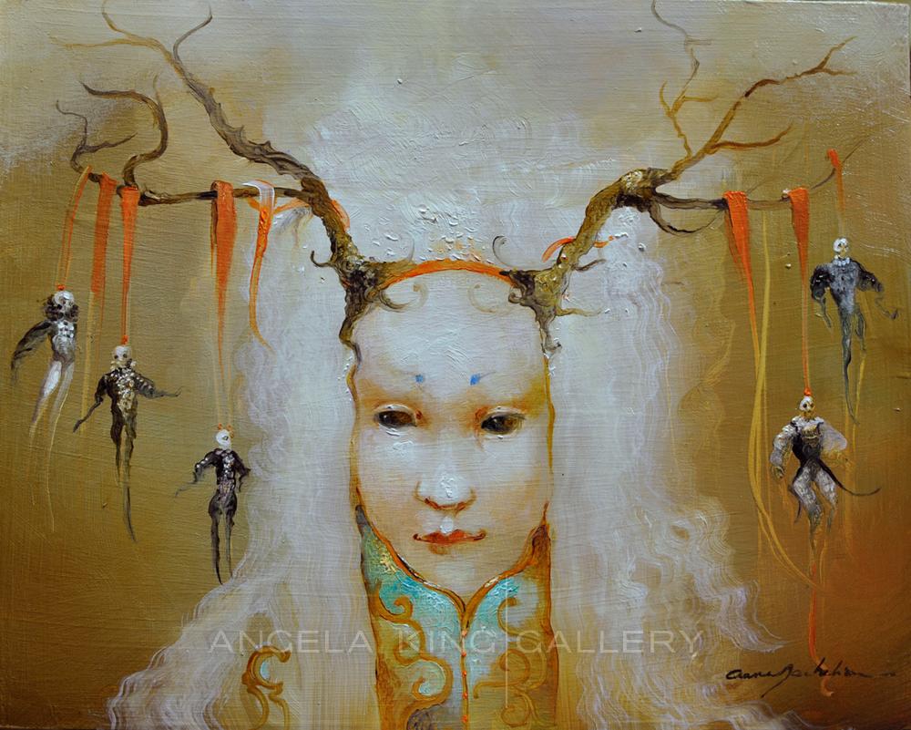 Portrait of an Enchantress - Portrait de l'Enchanteresse (Circe)