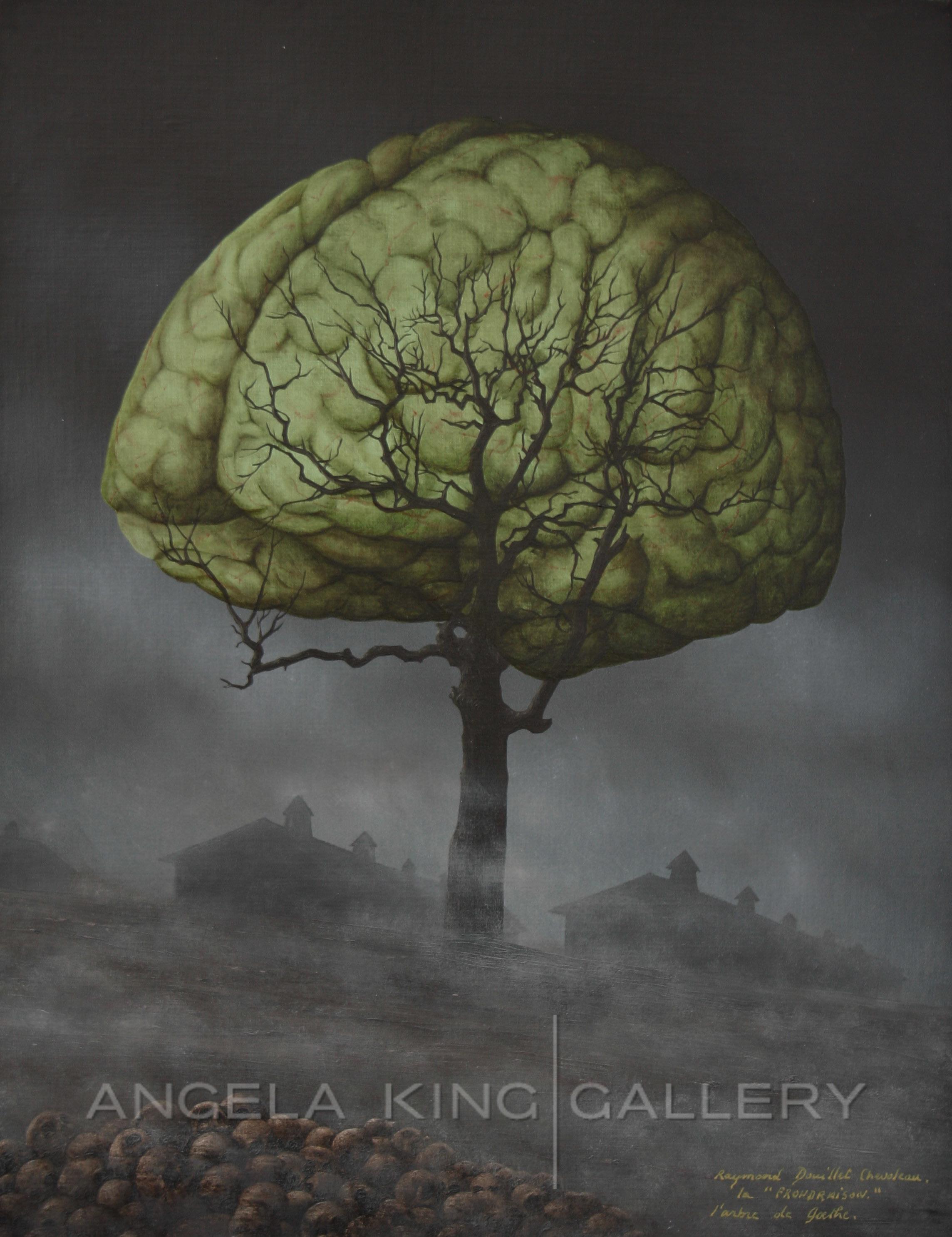 La Frondraison ou l'arme de Goethe d'après un dessin de L. Delarbre - The Reasoning Foliage or the Tree  of Goethe