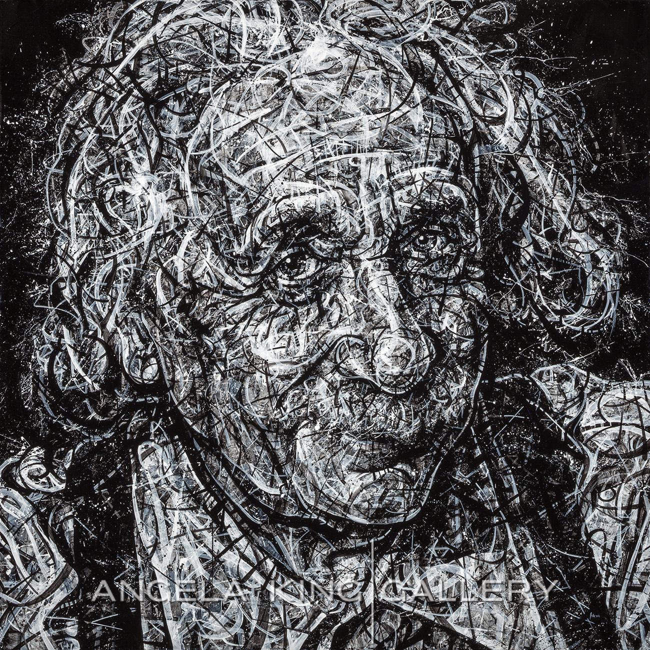 Einstein in Suspenders