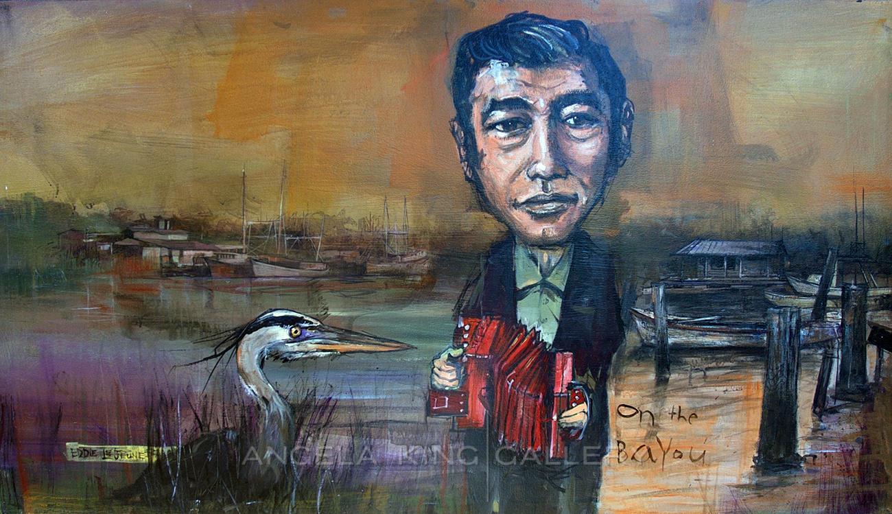 "Eddie Le Jeune "" On The Bayou"""