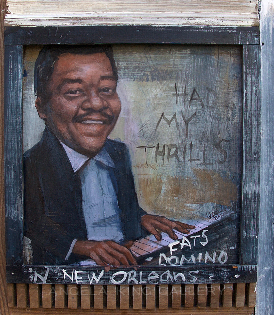 """Fats Domino """" Had My Thrills In New Orleans"""""""