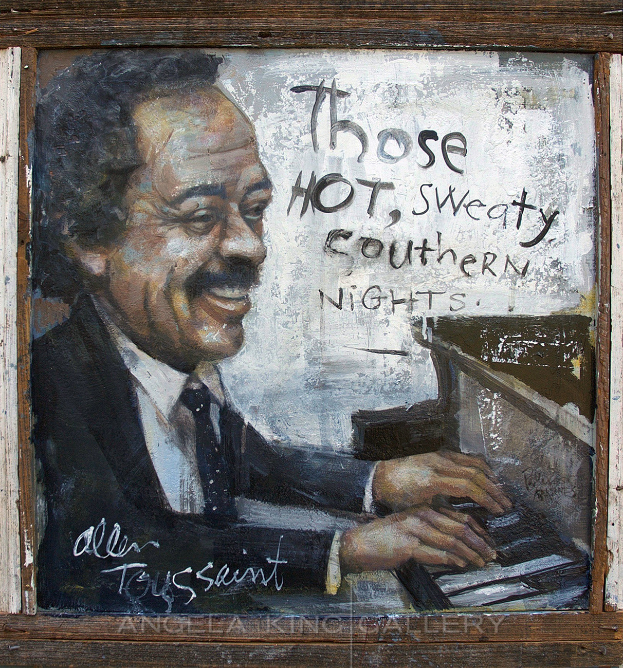 "Allen Toussaint ""Those Hot, Sweaty Southern Nights"""