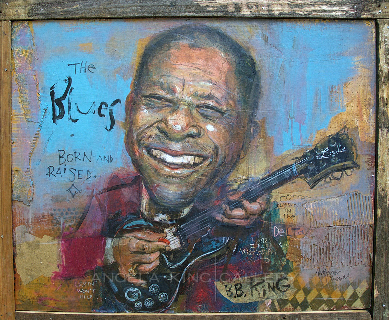 BB King The Blues Born and Raised