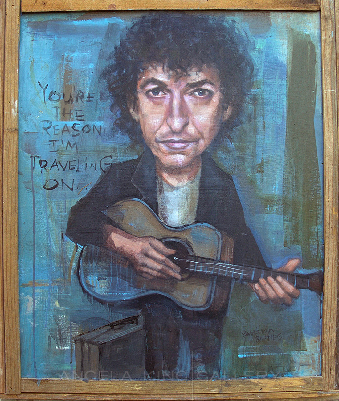 "Bob Dylan ""You're The Reason I'm Traveling On"""