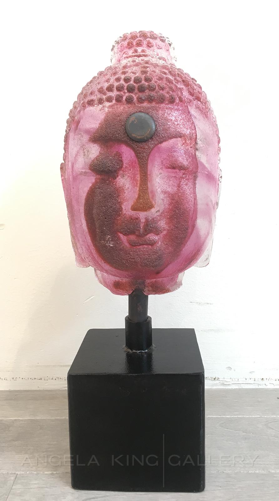 Bookshelf Buddha - Pink