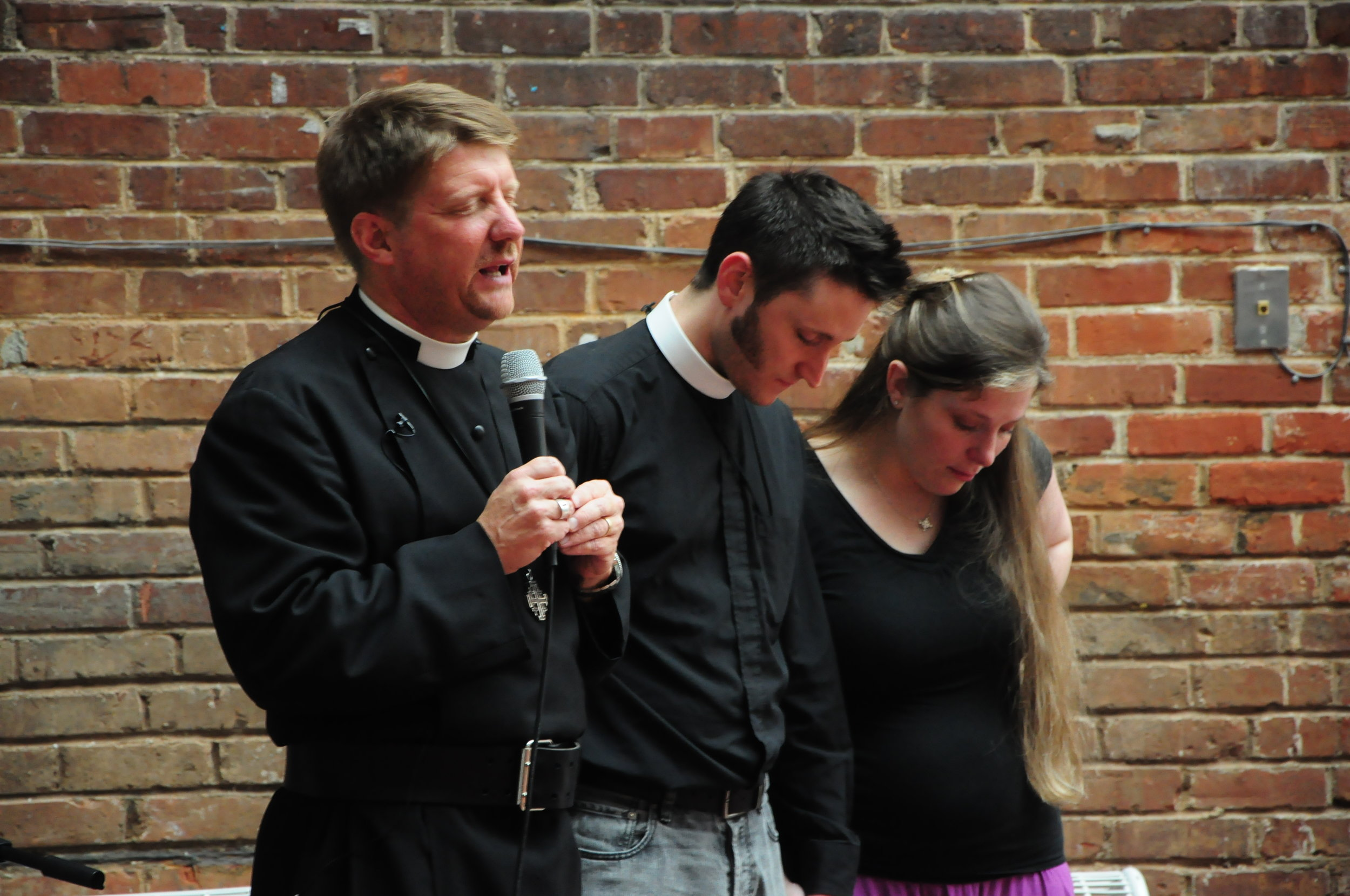 Our First Associate Rector, Aaron Burt, left in 2010 to begin a Church in the Northwest