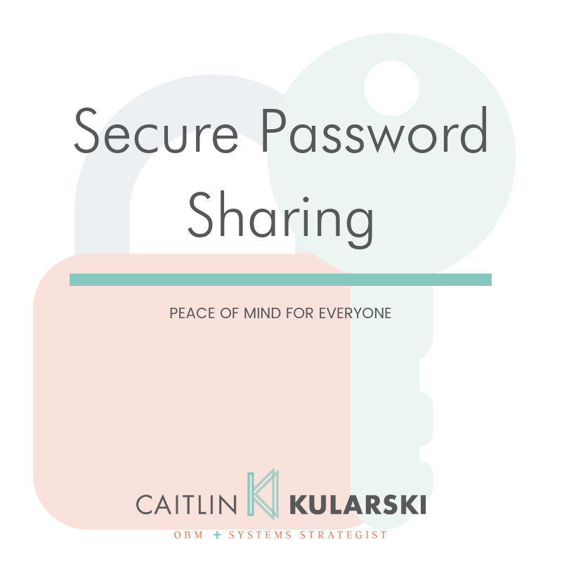 secure password sharing