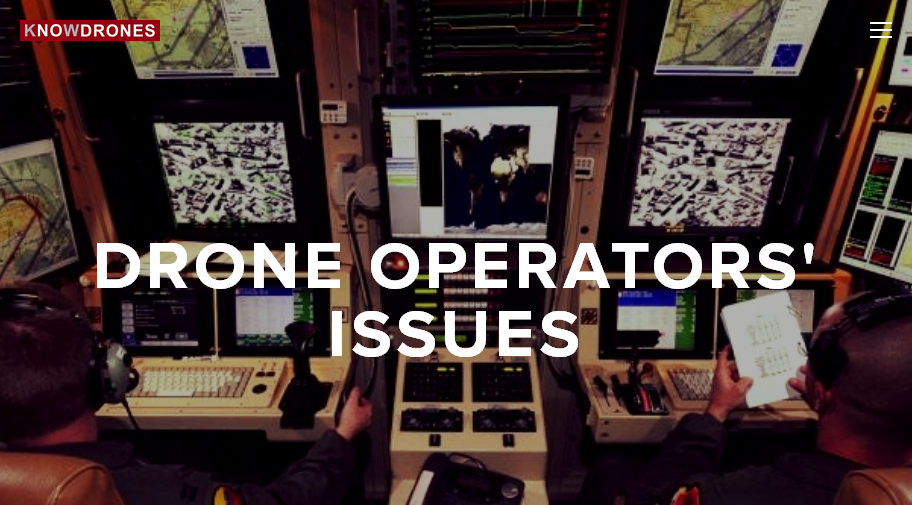 Drone Operators' Issues