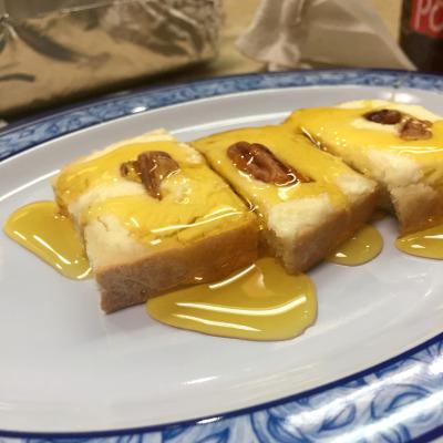 Marscapone and honey dessert