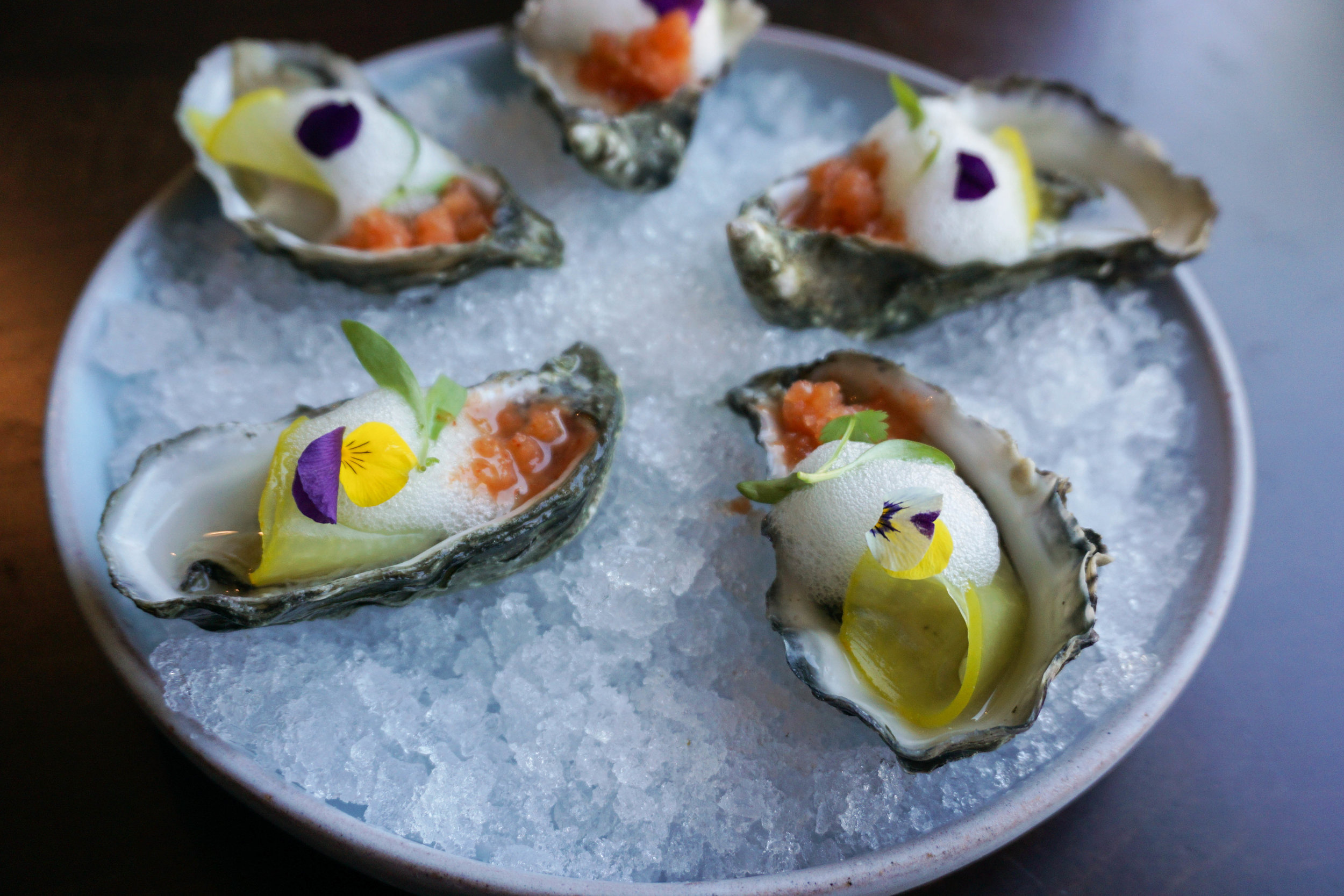Oysters (off the menu item)