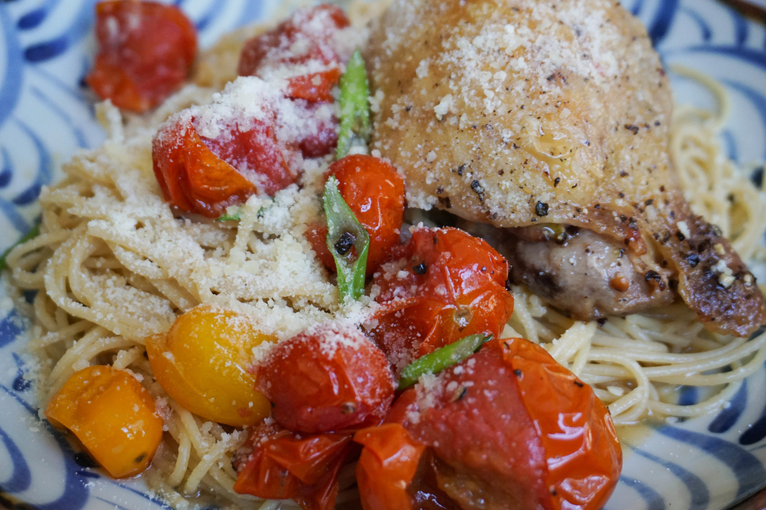 Adding parmesan makes it even better