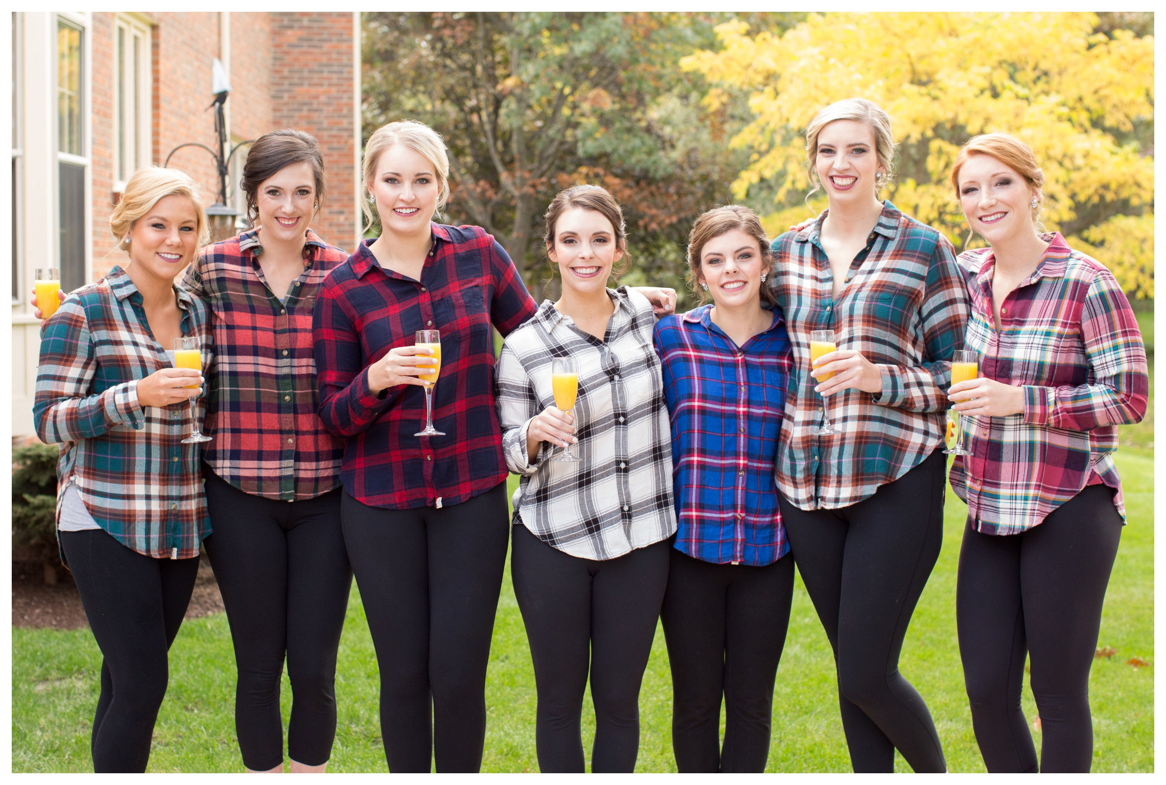 bridesmaids-plaid-buttondowns