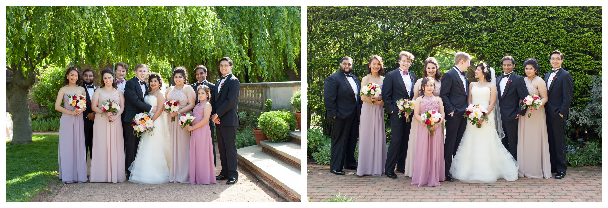 bridal-party-chicago-botanic-garden-wedding