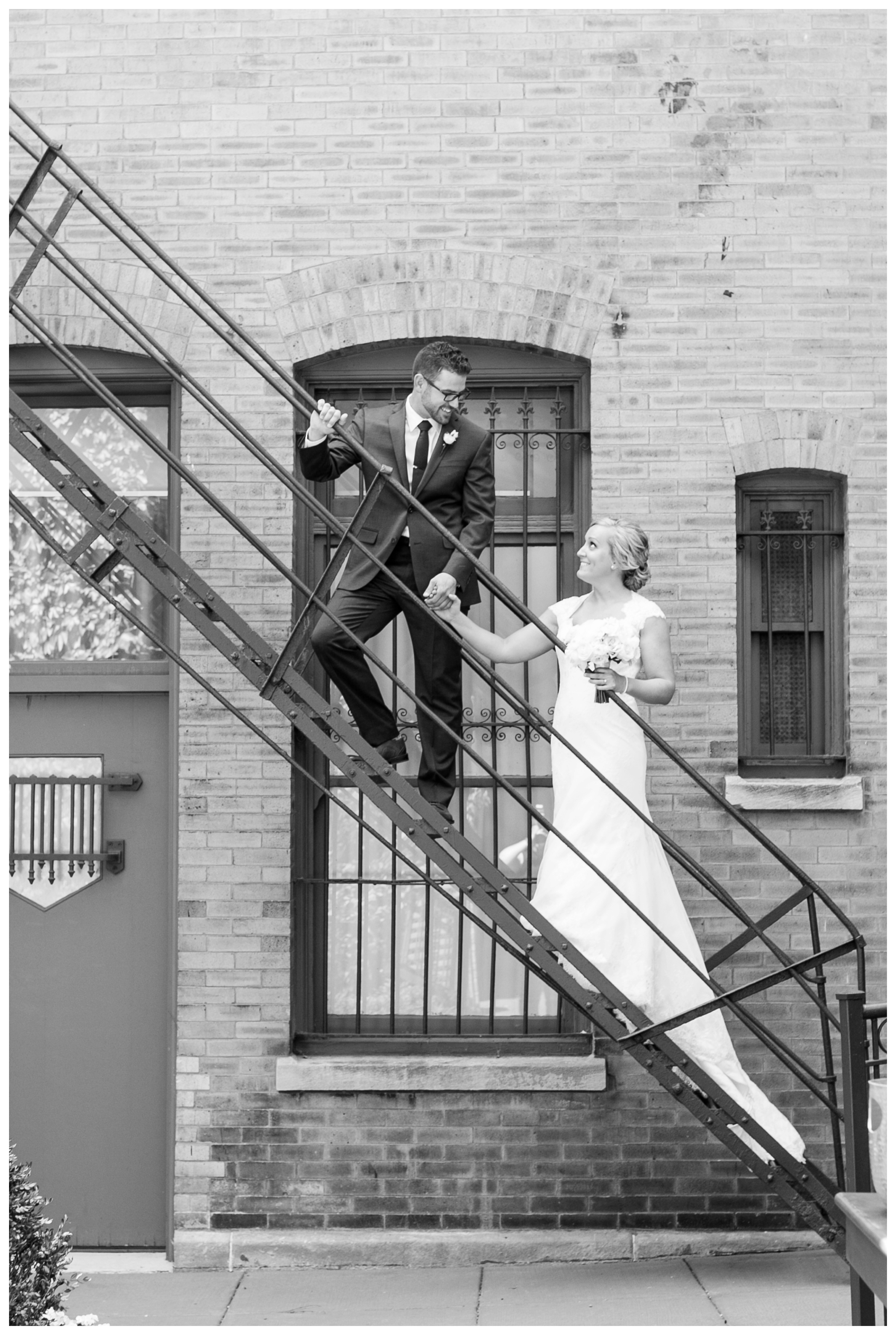 ivy-room-chicago-wedding-fire-escape