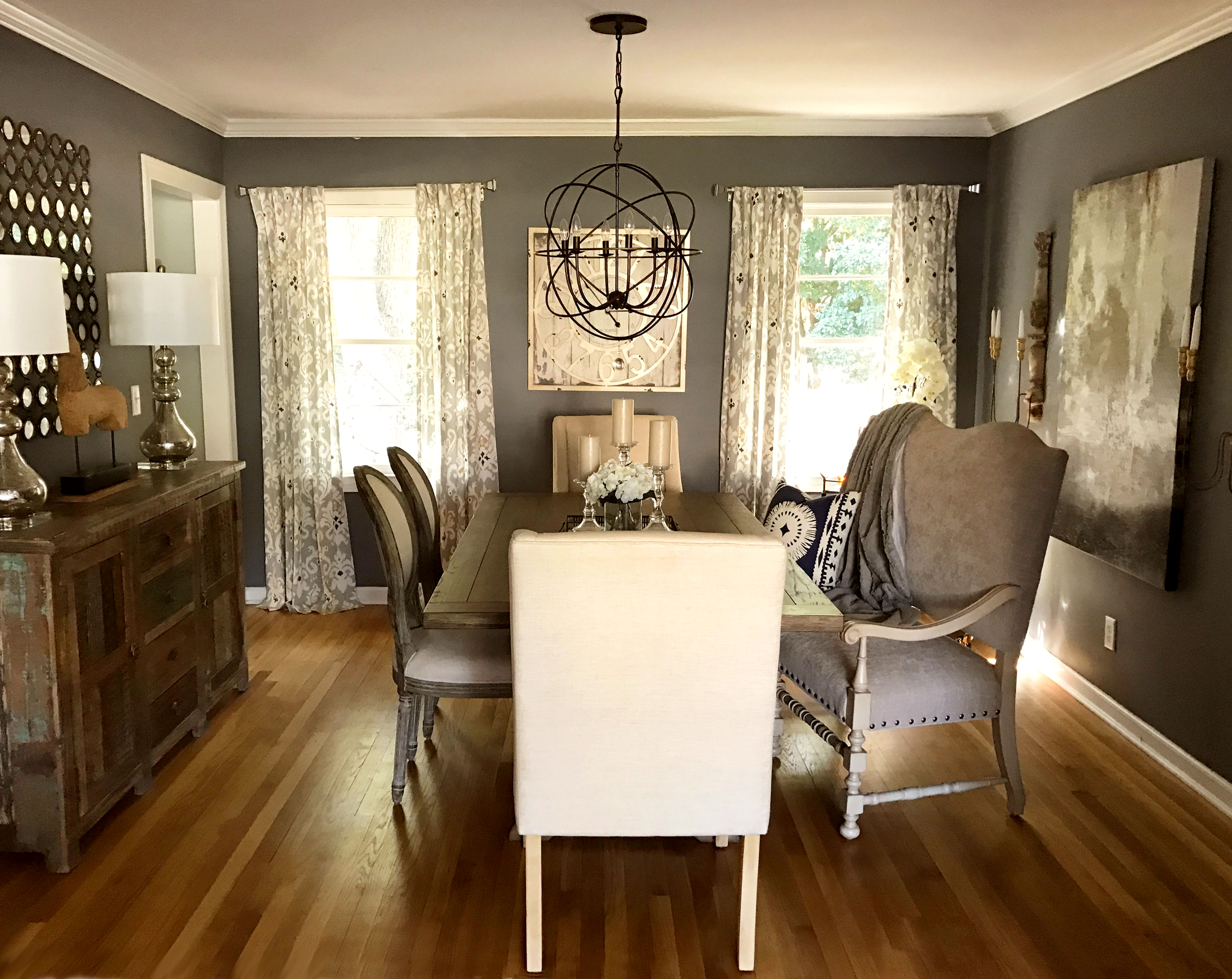 Dining Room by Michelle Button Interiors