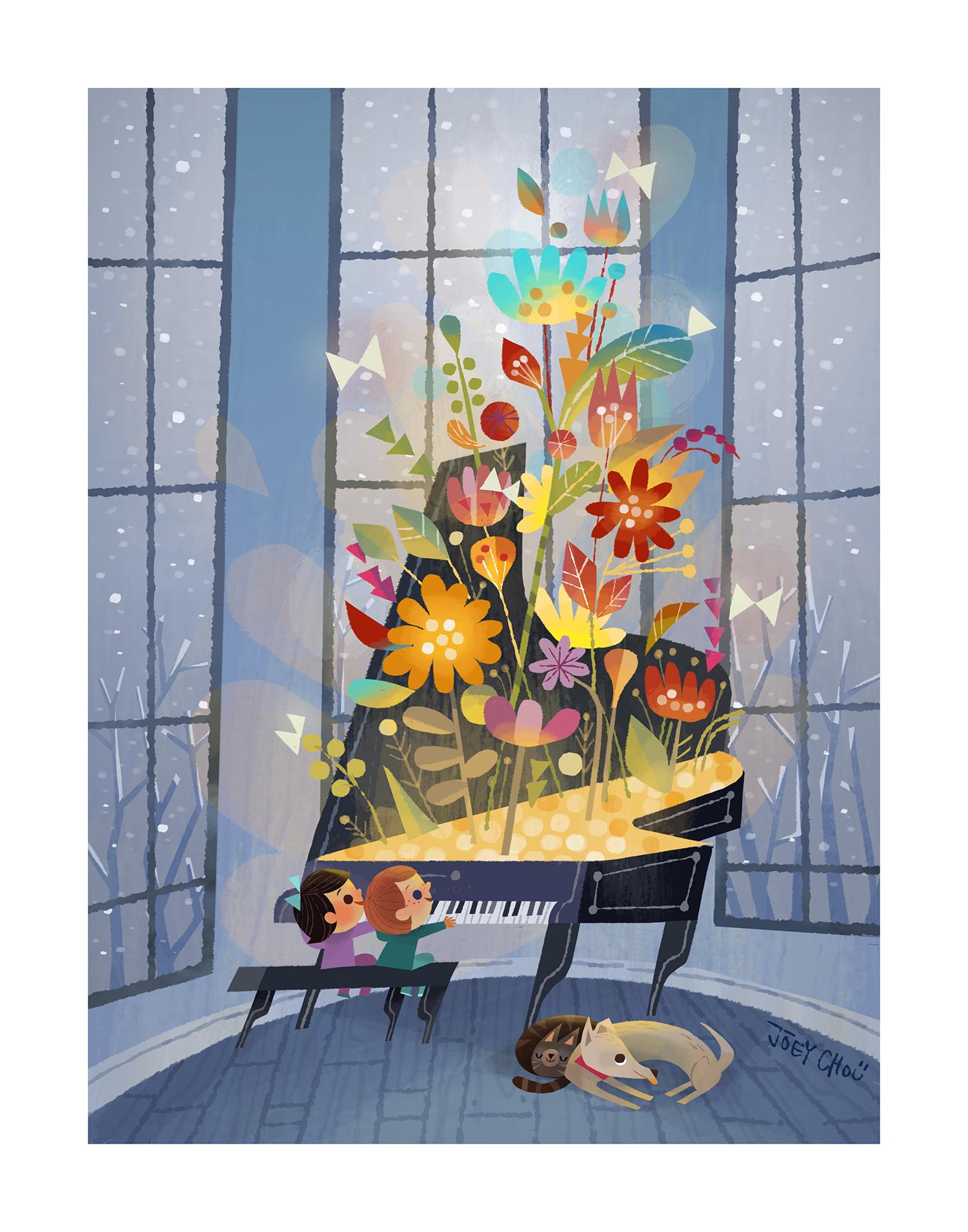 'Symphony of Spring' by Joey Chou
