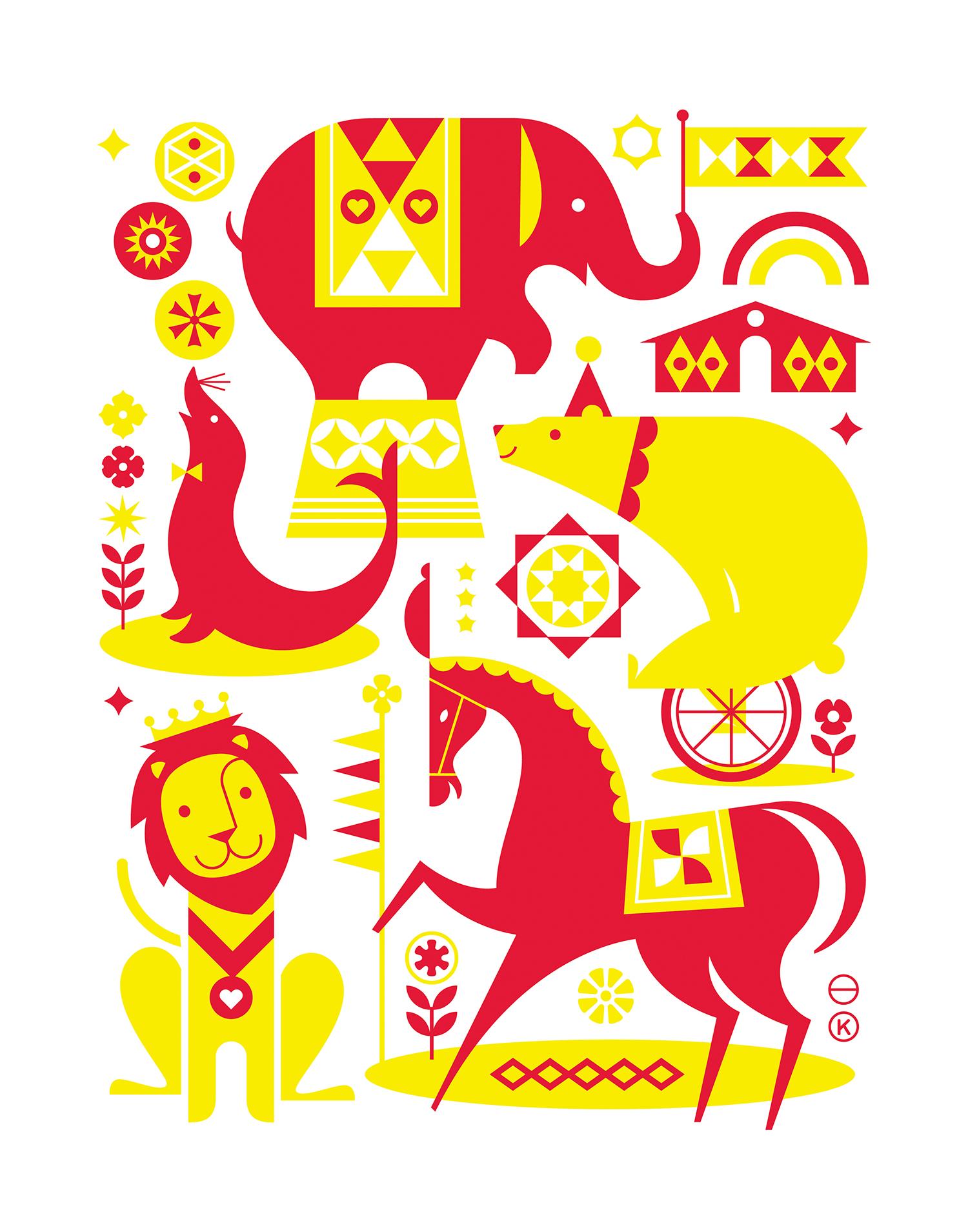 'Circus' by Katie Kirk