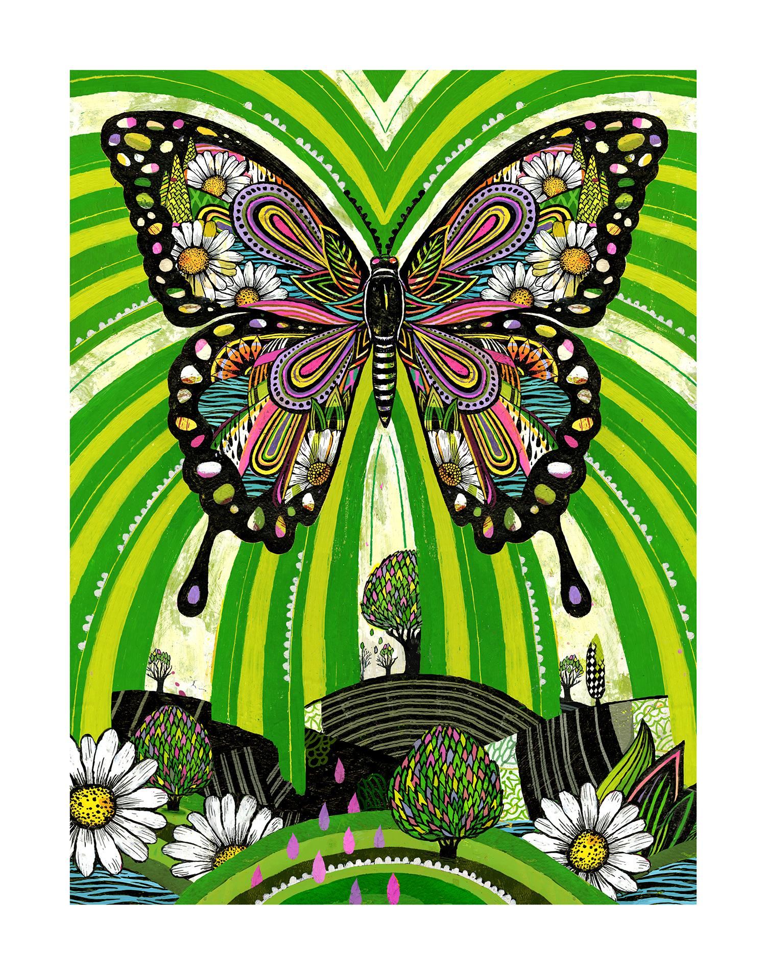 'Dream Butterfly' by Gina Triplett