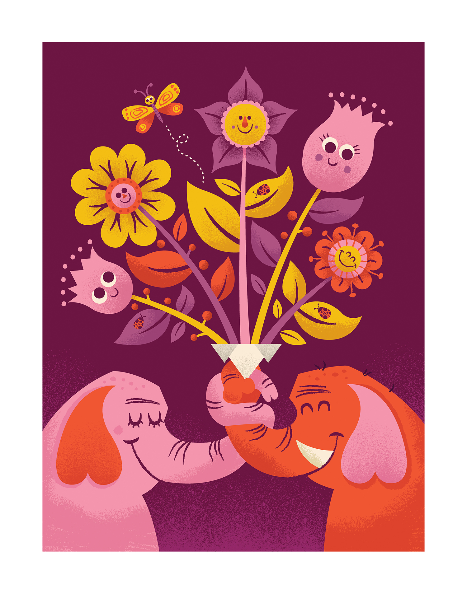 'Flower Friends' by Tad Carpenter