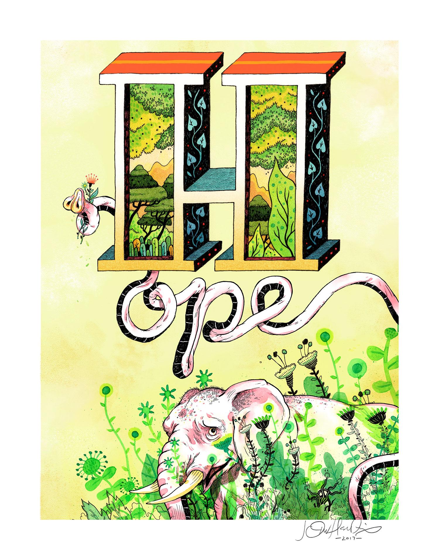'Hope Of Spring' by John Hendrix