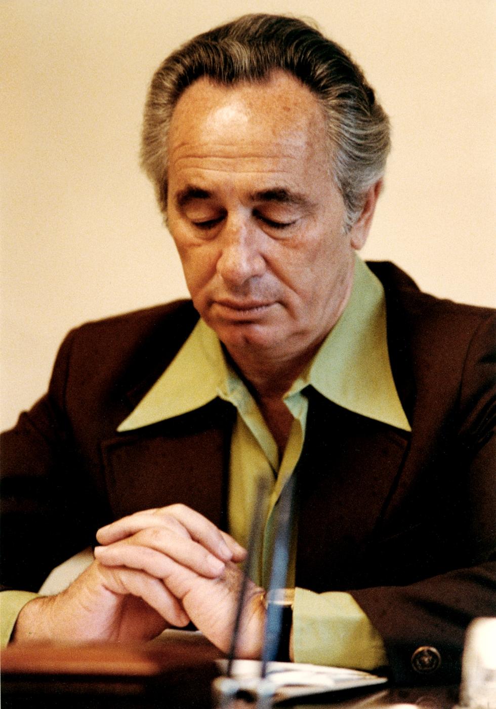 Shimon Peres, 1978