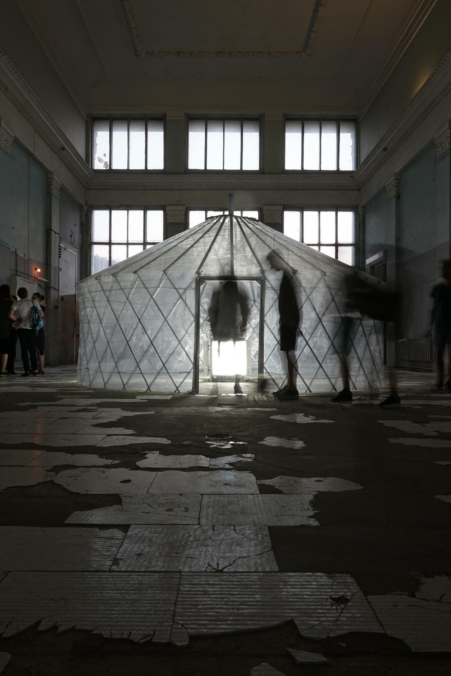 Nomadic structure, 2012.